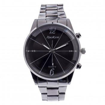Часы наручные мужские уитмен, d=4.5 см, микс