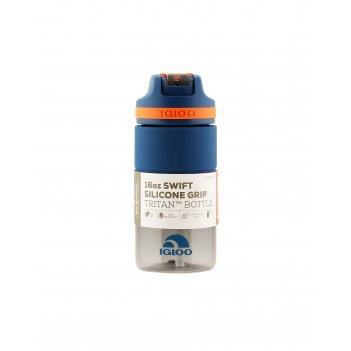 Бутылка-поильник для воды 473 мл igloo swift silicone 16 blue