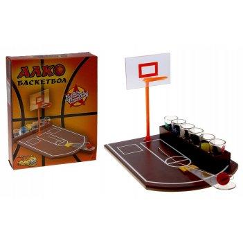 Алкоигра алкобаскетбол: 6 рюмок