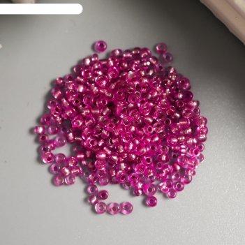 Бисер астра  11/0, 20 гр (1105 т.розовый/глянц.покрытие)