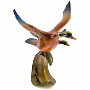 Декоративное изделие дикие утки 48*36 см. высота=46,5 см.