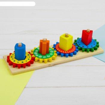 Пирамидка логическая шестеренки