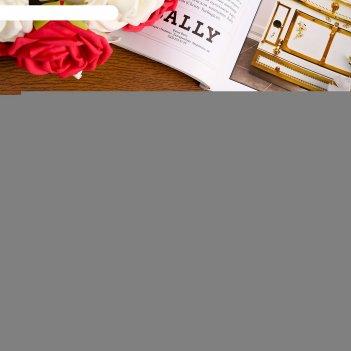 Купюрница «с днем свадьбы», 17x9,5x2,5 см, красная