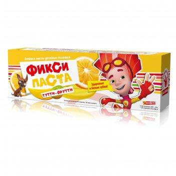 Зубная паста фиксики «тутти-фрутти», гелевая, 65 мл
