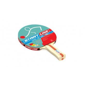 Ракетка level 100 для настольного тенниса, анатомическая рукоятка
