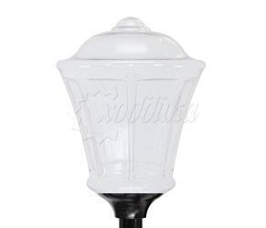 Светильник венчающий «монреаль» белый цвет белый