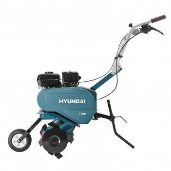 Культиватор бензиновый hyundai t 700, 4.1 квт, 300х600 мм, 1 скорость, фре