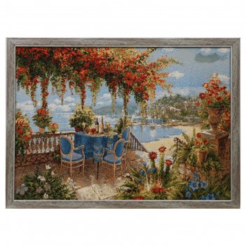 Гобеленовая картина ривьера рандеву 70х50 см