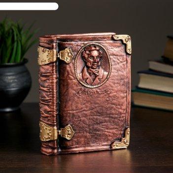 Копилка книга пушкин а.с. 13 x 13 x 18 см