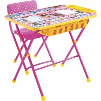 Стол с пеналом+стул ку2п/3маша и медведь