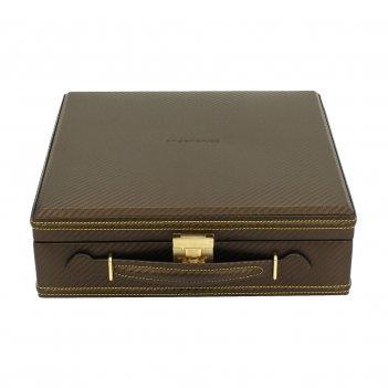 Шкатулка-кофр для хранения 12 часов арт.32054-8