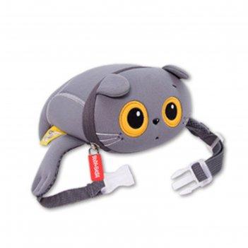 Мягкая игрушка-сумка поясная baby basik, 14х13х6 см abb-002