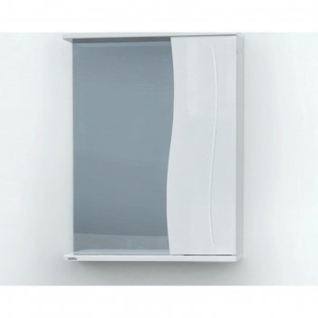Шкаф-зеркало камелия (с подсветкой ) правый 55