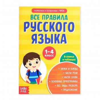 Сборник шпаргалок «все правила по русскому языку для начальной школы», 36