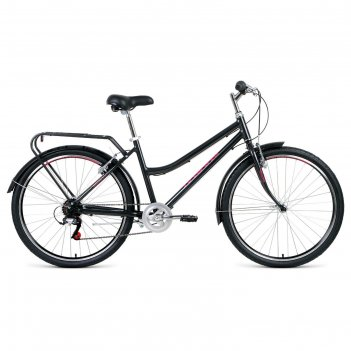 Велосипед 26 forward barcelona air 1.0, 2020, цвет серый, размер 17
