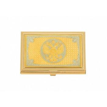 Визитница  герб россии златоуст