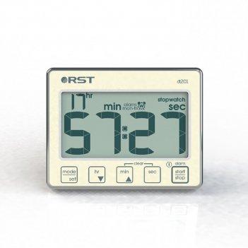 Цифровой таймер-секундомер с часами dt 201
