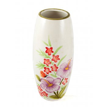 Ваза для цветов, керамика 13*13*30см
