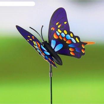 Декоративный штекер садовая бабочка микс