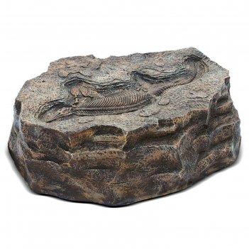 Садовая фигура камень с ихтиозавром