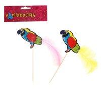 Шпажки для канапе попугай (набор 6 шт)