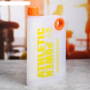 Бутылка для воды athletic power, 350 мл