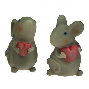 Фигурка декоративная мышка 5*4*7см (уп.6/144шт.)