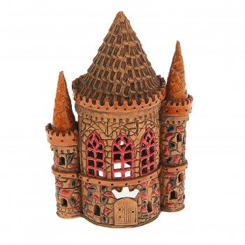 Аромалампа домик «башня тройная», 25 см, ручная работа, микс