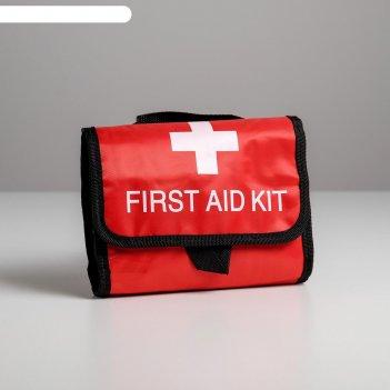 Косметичка дорожная first aid, 25*20,5*5 см