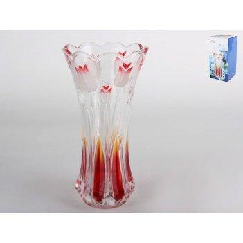 Ваза для цветов gb1568yjx/pds1тюльпан сатин роз29,5см.