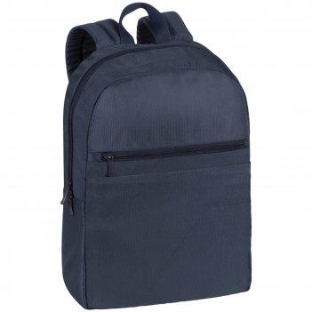 Рюкзак для ноутбука 15,6 rivacase 8065 44*31*12см, полиэстер, синий