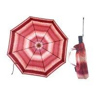 Зонт 23, полный автомат (бордовая абстракция)