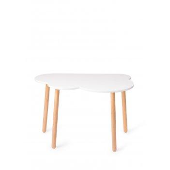 Стол детский oblako table белый
