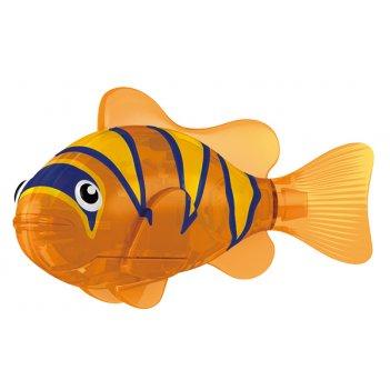 Тропическая роборыбка бычок (оранжевая) лицензия от robofish zuru