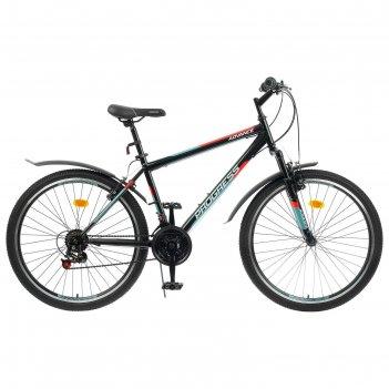 Велосипед 26 progress модель advance rus, цвет черный, размер 19