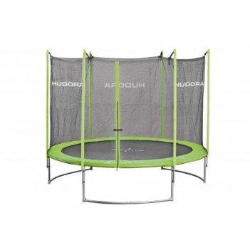 Батут hudora family trampoline 300 cm green (65630/01)
