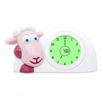 Часы-будильник для тренировки сна «ягнёнок сэм» (sam) zazu цвет розовый, 2