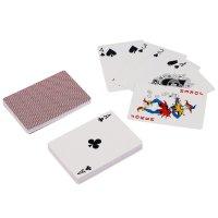 Карты для покера luxlite, красная рубашка