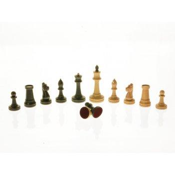 """Шахматные фигуры """"стаунтон №2"""", бук"""