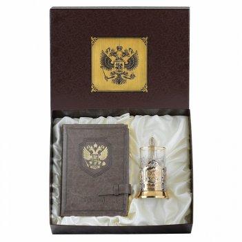 Стаканчик с цепочкой золотая печень россии 40 мл
