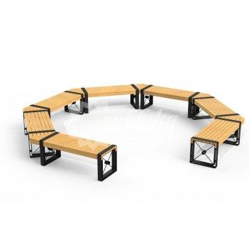 Скамейка круглая «софия»