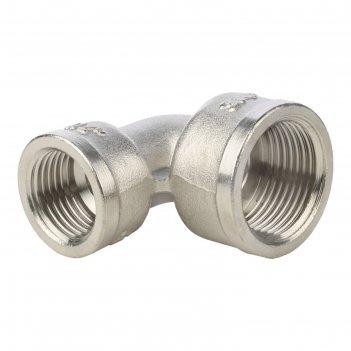 Угольник stout, никелированный, внутренняя/внутренняя резьба 3/4-1/2, sft-