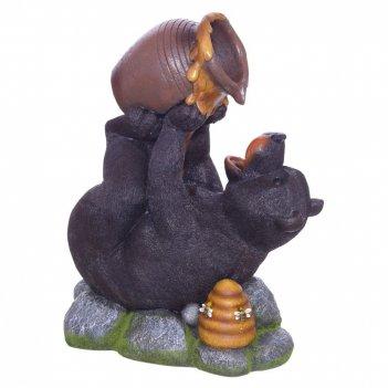Фонтан декоративный медведь, l48,5 w29 h63 см