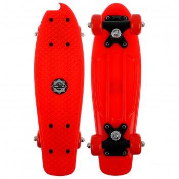 Скейтборд m-250, размер 42x12 см, колеса pvc d= 50 мм, цвет микс