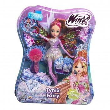 Кукла winx club тайникс «флора»