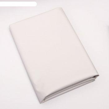 Клеенка 68*100 см., арт. 51398, пвх, с окантовкой, цвет белый