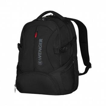 Рюкзак wenger 16 с отделением для планшетного компьютера, черный, полиэст