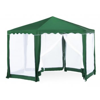 1003 тент шатер садовый greenglade (шестигранник) 2х2х2х2,6 м
