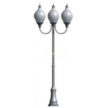 Фонарь уличный «лотос - 3» со светильниками