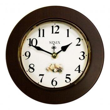 Часы настенные для дома и офиса sinix 5080w